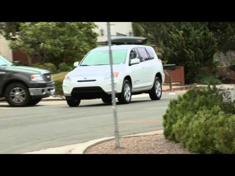 First Test Drive Of The Toyota Rav4 EV