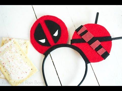 Deadpool Mickey Ears
