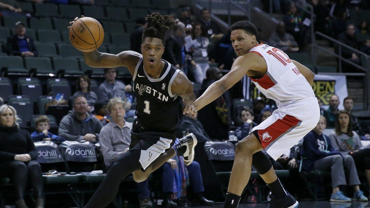 512a0f12f97f Highlights  Spurs  Lonnie Walker IV Shining On NBA G League Assignment!