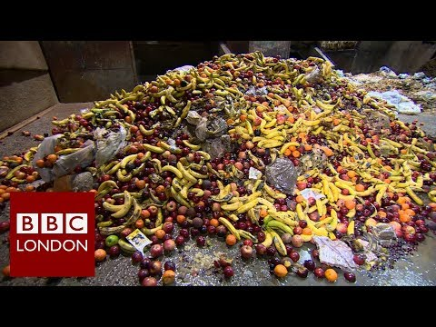 London's rubbish problem: Food waste – BBC London News