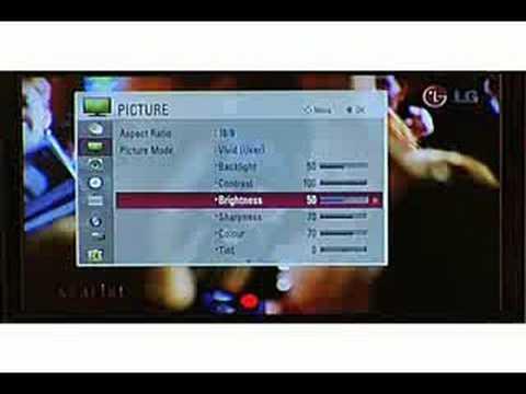 LG LCD TV(LG60) - TruMotion Advanced 120Hz - YouTube