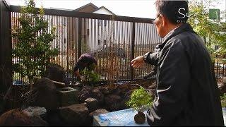 茨城栃木モダン和風庭園の設計施工ソーマオリジナルガーデン
