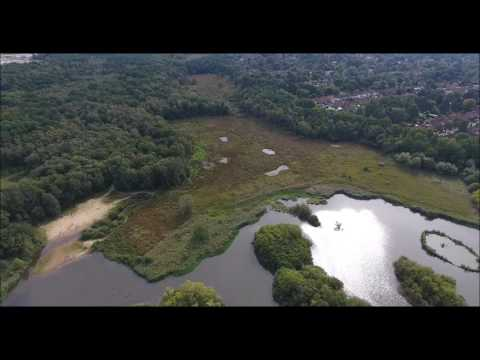 Phantom 4 over Fleet Pond