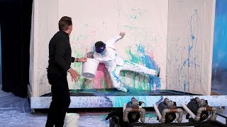 Average Andy Gets Slimed by Science Expert Steve Spangler!