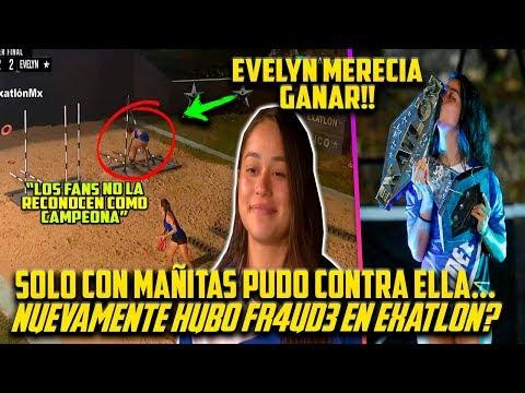 AIDE gana EXATLON PERO con MAÑITAS!! SOLO ASÍ PUDO CON EVELYN??