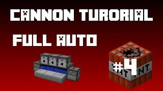 Minecraft - TNT Cannon (Tutorial) Full Auto Compact!