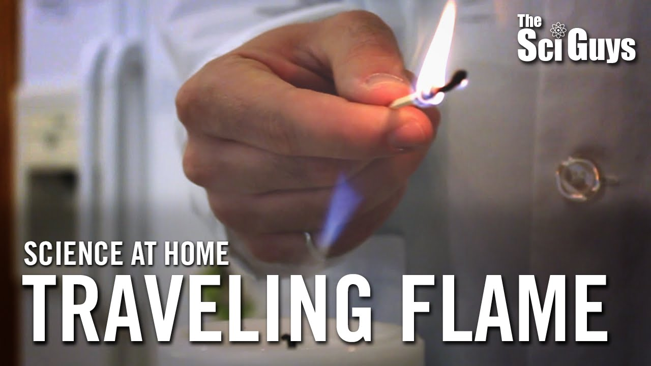 Download The Sci Guys: Science at Home - SE3 - EP2: Magic Traveling Flame - Relight a Candle Using Its Smoke