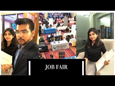 Job Fair In USA | How To Get A Job/internship In A Job Fair | Marist College | MS In US
