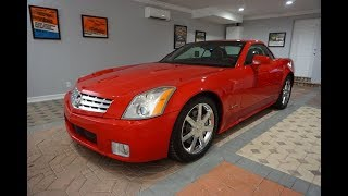 This 2007 Cadillac XLR Passion Red Limited Edition Roadster is an Upscale Corvette