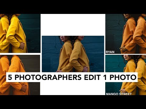 5 photographers edit the