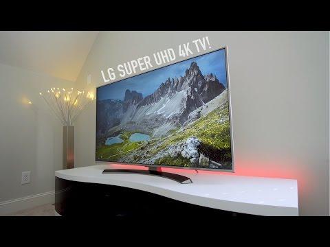 LG Super UHD 4K TV Review! (2016)