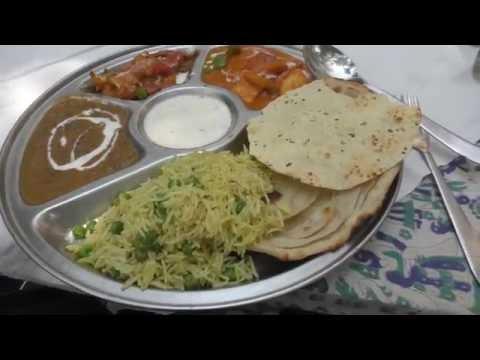 アキーラさん利用②インド・アーグラ・タージマハル近くのインド料理屋Indian restaurant near Taj Mahal,Agra,India