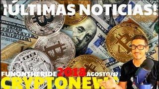 ¡ANÁLISIS BITCOIN, ALTCOINS Y CRIPTONOTICIAS! /CRYPTONEWS 2018 Agosto/17