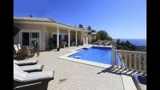 Espagne : Villa de luxe à vendre – Vue sur mer - incroyable terrasse extérieure avec piscine- Visite
