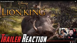 The Lion King Angry Trailer Reaction!