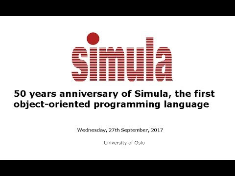 James Gosling - Simula: a personal journey