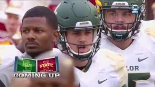 Baylor vs Iowa State football 2016 Full game