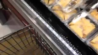 Whole foods shopping cart with sevi