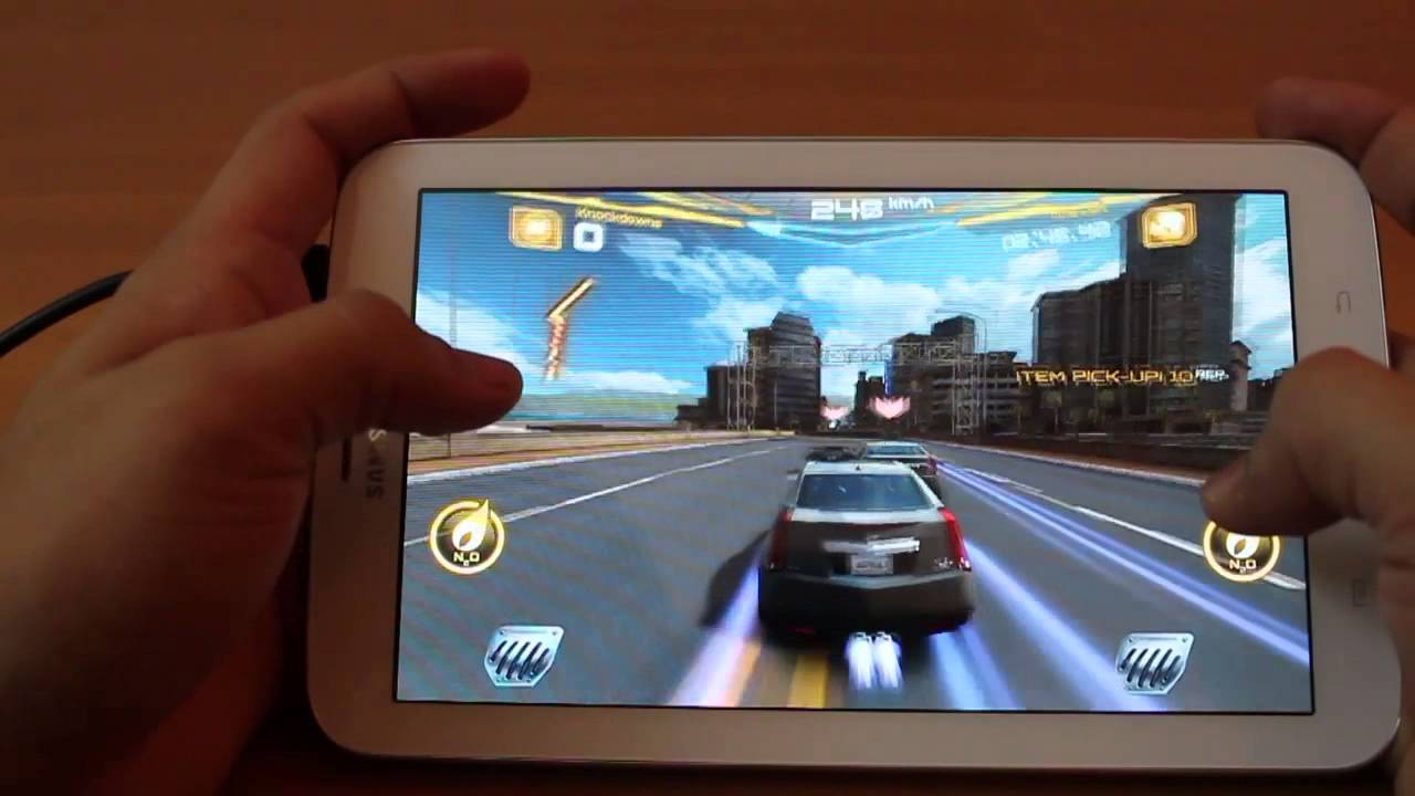 gaming on samsung galaxy tab 3 7 0 inch   youtube