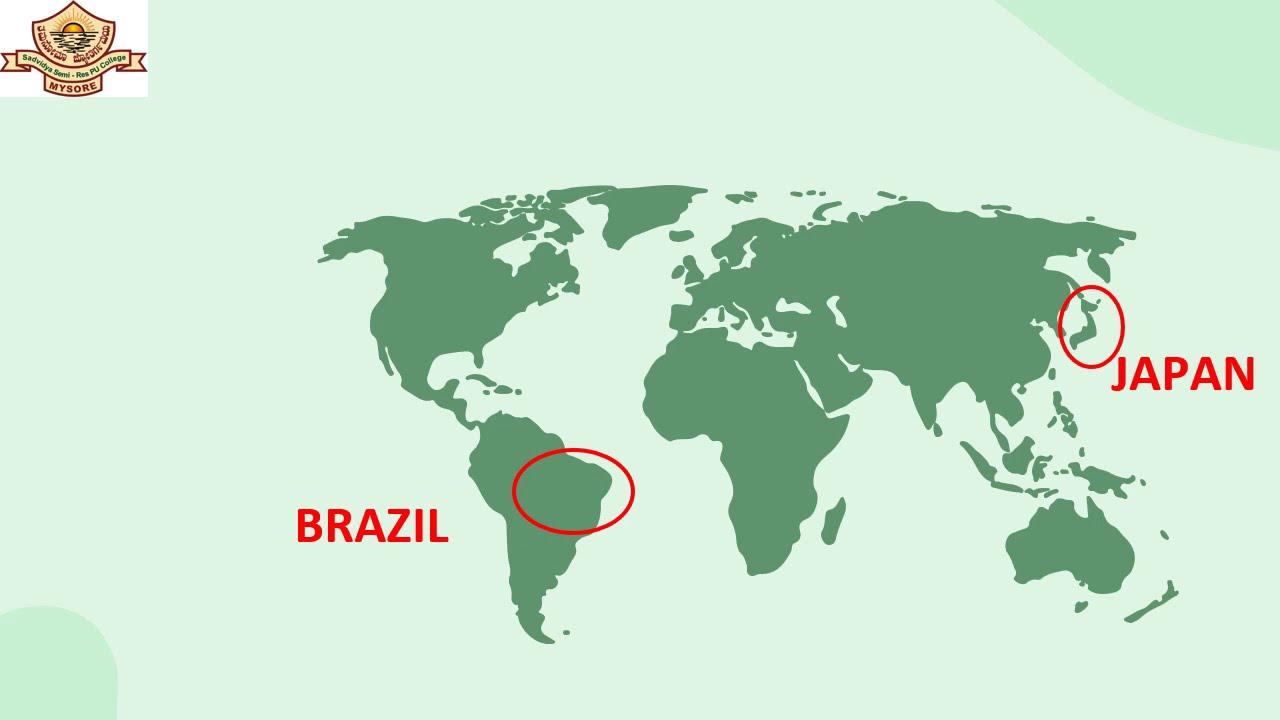 II PUC | ENGLISH | Part 2 - Japan and Brazil through a traveller's eye