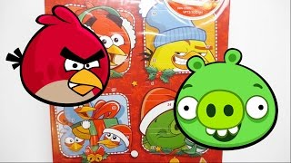 Angry Birds Chocolate Advent Calendar 2017