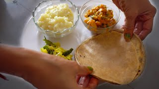 Traditional Indian Lunch Preparation at Home | Indian Kitchen | Indian Cooking