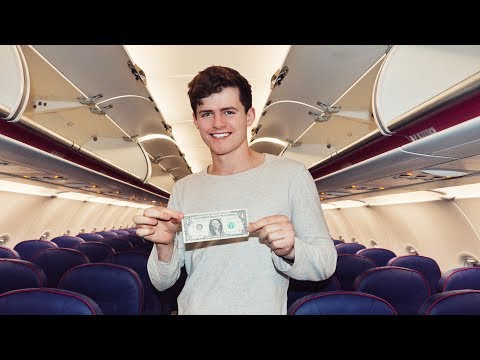i flew 2,000 miles for $1 (travel hack)