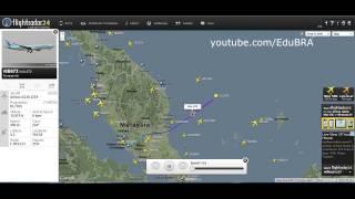 Voo 370 - Malásia - Estranhos acontecimentos na região em que o avião sumiu do radar.