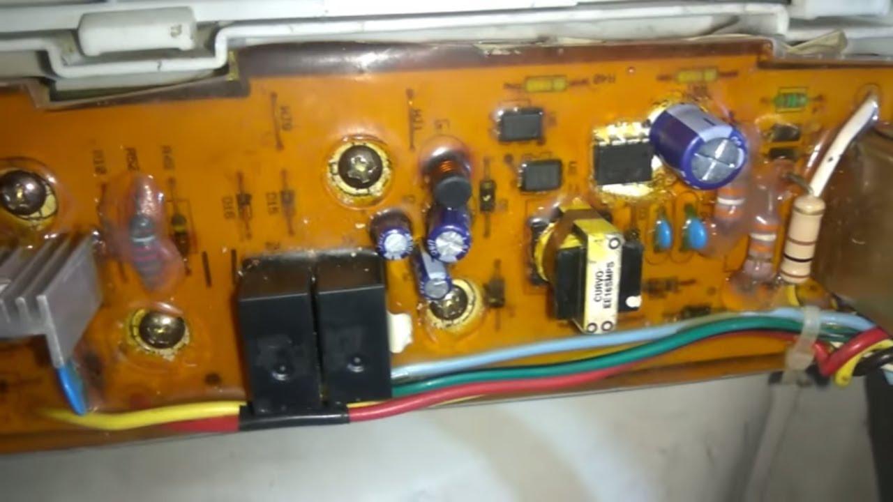 Whirlpool Washing Machine PE Error Code PCB Repair - YouTube | Whirlpool Washing Machine Wiring |  | YouTube