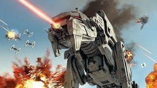 Star Wars The Last Jedi: Battle of Crait 4K   Battlefront 2 Cinematic