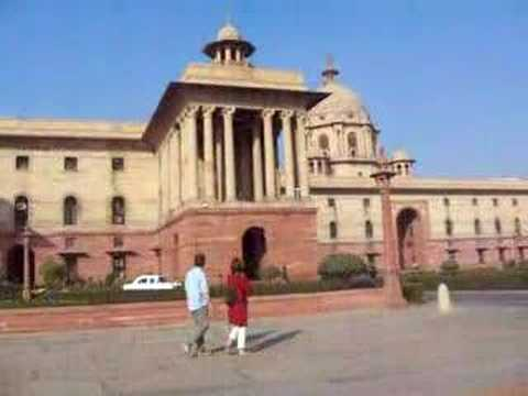 Government Buildings in New Delhi, India