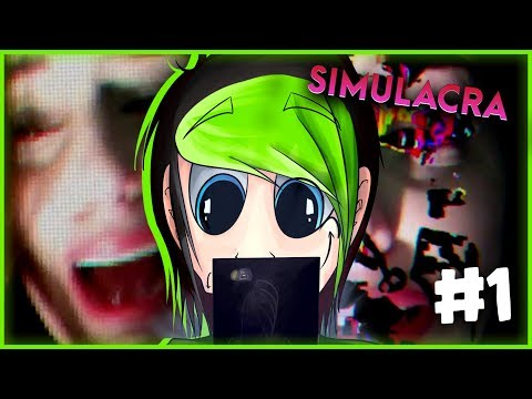 WIERDEST PHONE I'VE EVER USED! | SIMULACRA #1 | DAGames