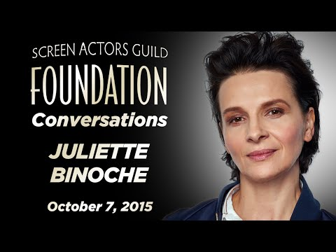 Conversations with Juliette Binoche