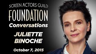 Conversations with Juliette Binoche