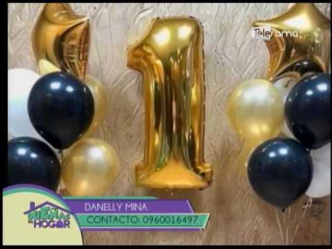 Nueva tendencia en decoración de globos