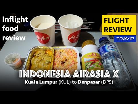 Indonesia AirAsia X review: Kuala Lumpur to Denpasar