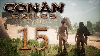 Conan Exiles - прохождение игры на русском - Продолжаем гулять по джунглям, жрица Деркето [#15] | PC