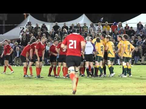#2 Rugby Classic Australia vs Canada Bermuda November 10 2011