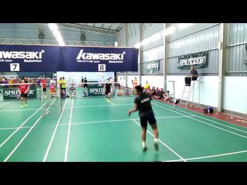 Spritzer Taiping Badminton Open 2016 Day 1 (MS U18) #1