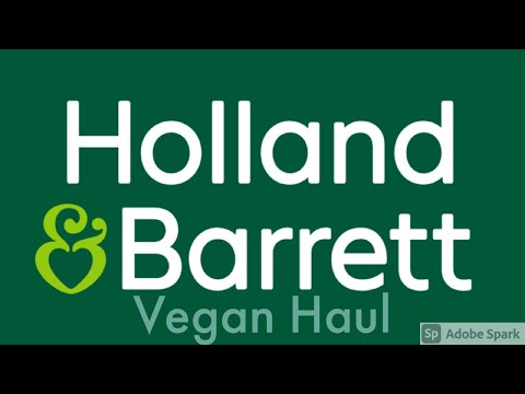 Holland & Barrett Haul | Vegan