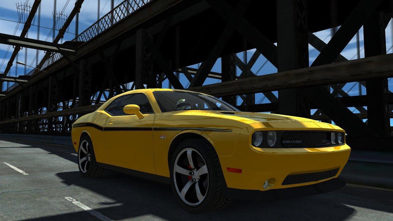 Gta Iv 2012 Dodge Challenger Srt8 392 Crash Testing