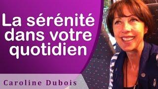 La sérénité dans votre quotidien EFT en français - #113