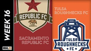 Sacramento Republic FC vs. Tulsa Roughnecks FC: June 22nd, 2019