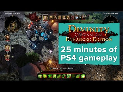 Divinity Original Sin Enhanced Edition - 25 minutes of exclusive PS4 gameplay - Gamescom 2015