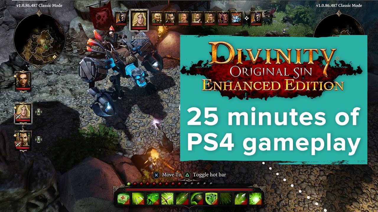 Divinity Original Sin Enhanced Edition 25 Minutes Of Exclusive Ps4 Gameplay Gamescom 2015 Youtube