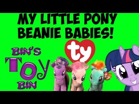 17d822555ff My Little Pony Ty BEANIE BABIES Review! Pinkie