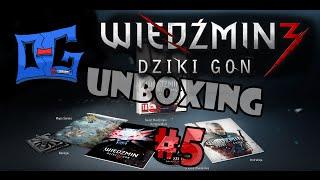 Wiedźmin 3 dziki gon PC | Unboxing #5 PL (O-G) |