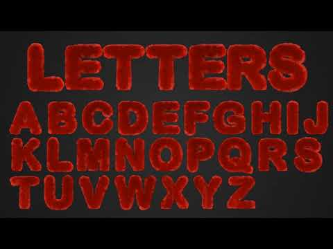 Hairy Text | After Effects template