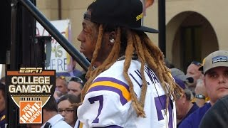 Life as a Touring DJ with ESPN: Baton Rouge (LIL WAYNE took over my DJ booth!)