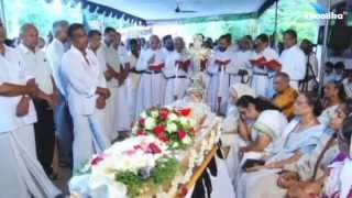Sosamma Abraham Funeral Service on Sep 3rd 2015